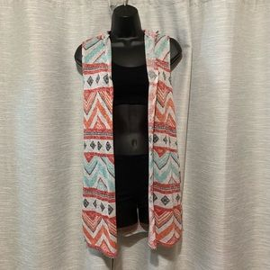 Cardigan; Size L with a hoodie